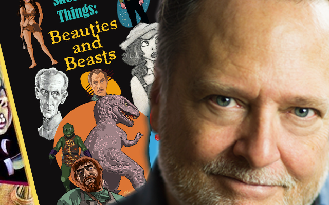 Frank Dietz with Sketchy Things book