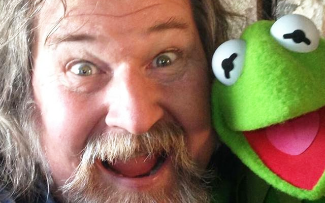 Photo of Kirk with Kermit